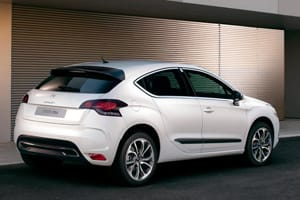 Citroën DS4 is a sporty '2+2 door' coupé