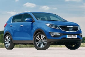 Kia Sportage: just 300 petrol models will be available