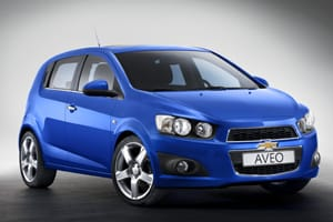 New Aveo looks aggressive