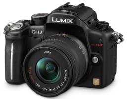 Panasonic Lumix DMC-GH2 micro four-thirds camera