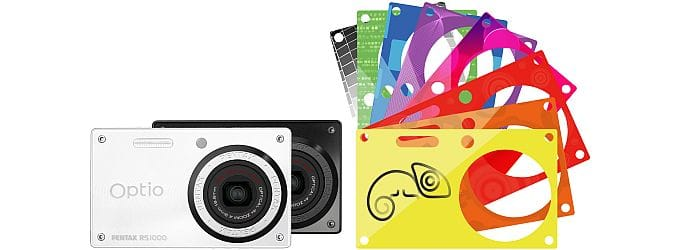 Pentax RS1000 Chameleon camera colours