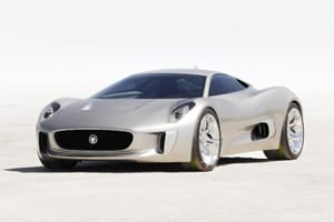 The C-X75 is capable of up to 205mph