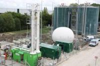 Biogas processing at Didcot sewage Works