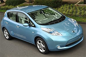 Nissan Leaf has a 100-mile range