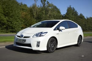 Prius gets alloys and bodykit