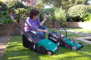 Qualcast mowers