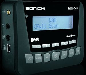 Sonichi S1000 in-car DAB converter from Halfords