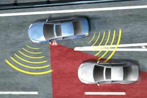 System detects vehicles in your blind spot