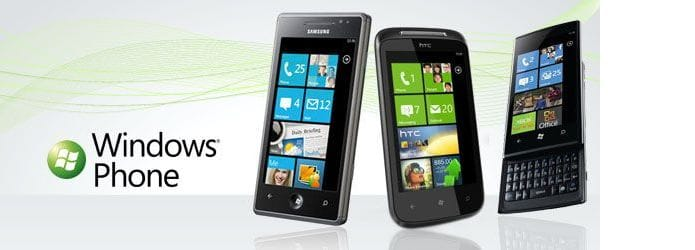 Windows Phone 7 - HTC, Samsung, LG, Dell