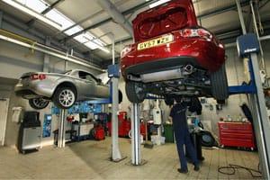 Mazda workshop