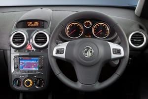 2011 Vauxhall Corsa interior