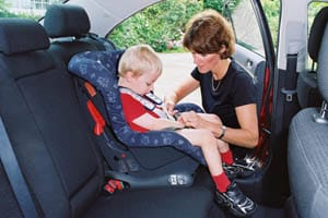 Fitting a child car seat