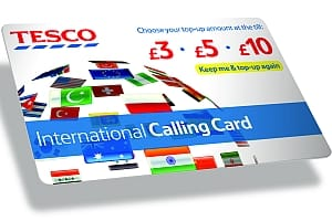 tesco to offer international call cards which news. Black Bedroom Furniture Sets. Home Design Ideas