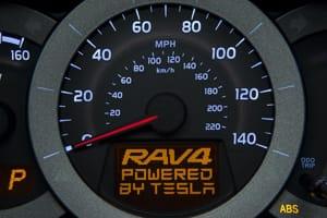 Toyota concept dash