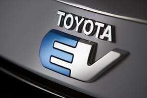 Toyota EV logo