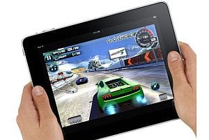 Apple iPad gaming