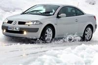 Renault skidding on ice