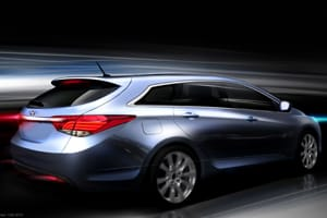 Hyundai i40 drawing