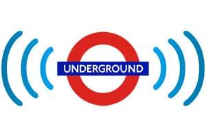 mobile phones underground