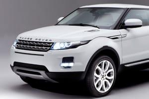 Range Rover Evoque grille