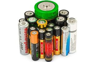 Batteries - disposable and rechargeable AA, AAA and C cells