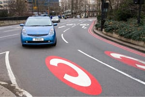 Toyota Prius in Congestion Charge zone