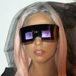 Lady Gaga and Polaroid GL20 camera glasses at CES 2011