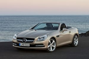 The new Mercedes SLK