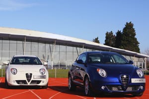 The new Alfa Romeo Mito Sprint