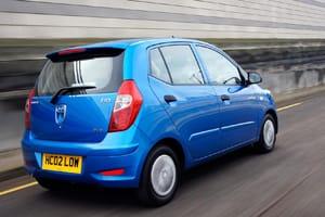 Hyundai i10 Blue rear