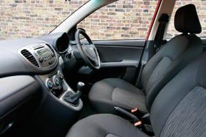 Hyundai i10 interior update