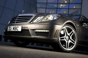 The Mercedez-Benz E-class scored highest for new car reliability