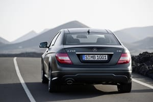 Mercedes C-class Coupe rear
