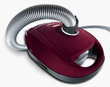 Miele Red Velvet cylinder vacuum cleaner
