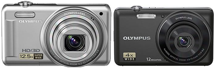 Olympus VR330 and VG110 compact digital cameras