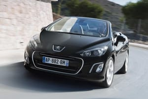 Emissions have been reduced across the model range too, including the Peugeot 308 CC convertbile