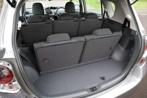 Inside a Toyota MPV