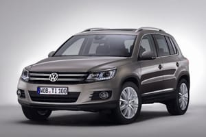 The Volkswagen Tiguan gets an update for 2011