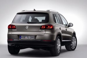 The new VW Tiguan will debut at the Geneva Motor Show next month