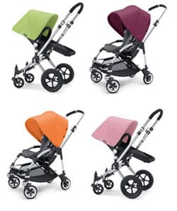 Bugaboo pushchairs