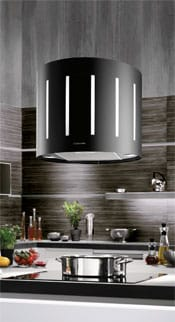 Lampshade cooker hood