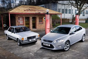 Ford Mondeo and Ford Cortina