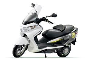 Suzuki Burgman Fuel-Cell Scooter