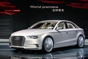 Audi A3 saloon plug-in hybrid e-tron concept