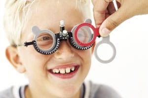 Child eye screening