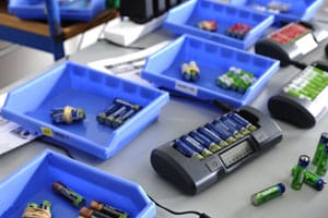 rechargeble batteries test lab
