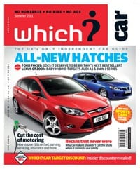 Which? Car summer issue cover
