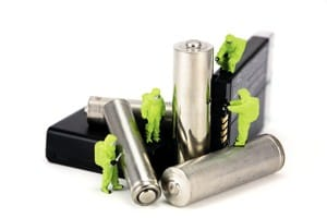 battery recycling content