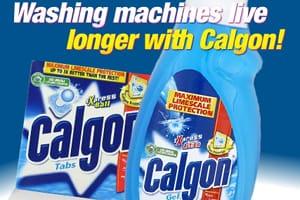 Calgon washing machines