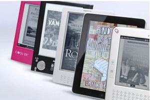 Digital books sales up to £16 million in 2010